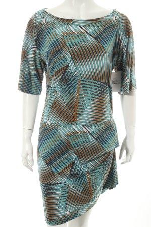 Diane von Furstenberg Minikleid abstraktes Muster Casual-Look
