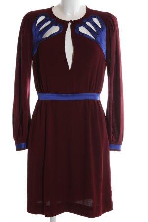 Diane von Furstenberg Minikleid rot-blau Casual-Look