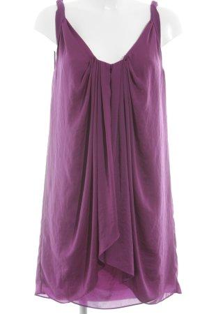 Diane von Furstenberg Minikleid violett Casual-Look