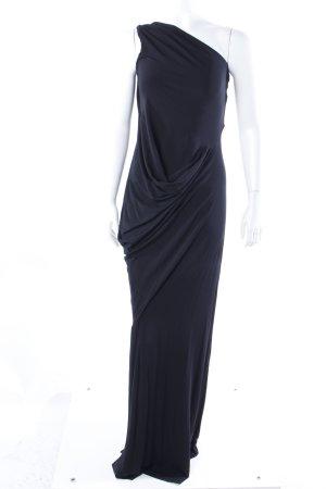 Diane von Furstenberg One-Shoulder-Kleid schwarz