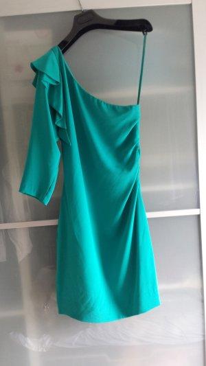 Diane von Furstenberg One-Shoulder Seidenkleid