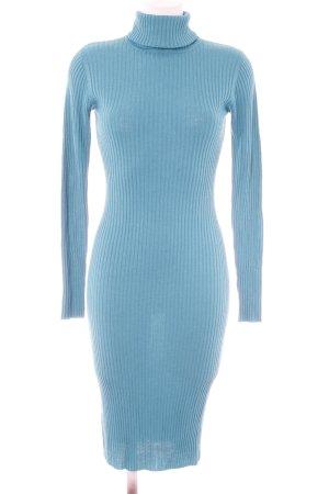 Diane von Furstenberg Sweaterjurk cadet blauw casual uitstraling