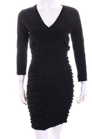 Diane von Furstenberg Pulloverkleid schwarz Casual-Look