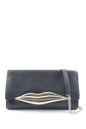 Diane von Furstenberg Schultertasche schwarz extravaganter Stil