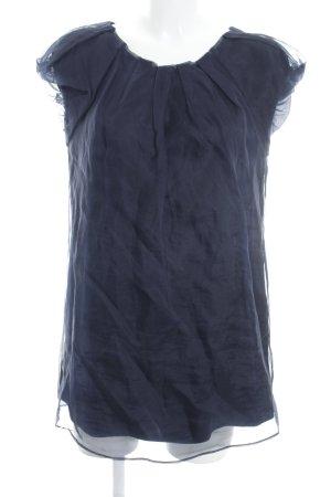 Diane von Furstenberg Seidenbluse dunkelblau Elegant