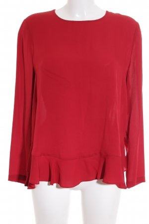 Diane von Furstenberg Seidenbluse rot Casual-Look