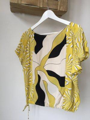 Diane von Furstenberg Top in seta giallo neon-giallo lime Seta