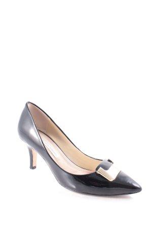 Diane von Furstenberg Spitz-Pumps schwarz klassischer Stil