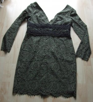 Diane von Furstenberg Lace Dress khaki