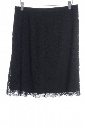 Diane von Furstenberg Lace Skirt black casual look
