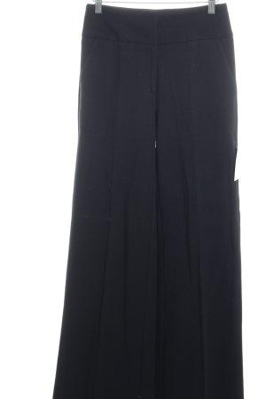 Diane von Furstenberg Stoffhose schwarz Casual-Look