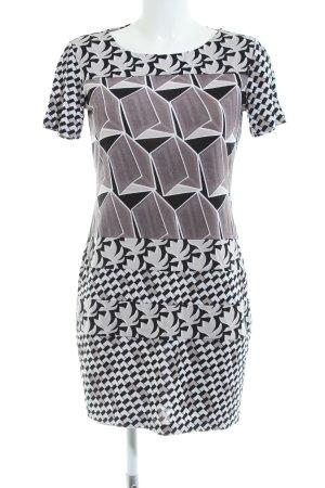 Diane von Furstenberg Stretchkleid grafisches Muster Casual-Look