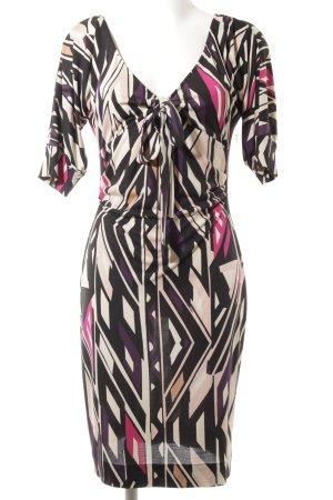 Diane von Furstenberg Stretchkleid abstraktes Muster extravaganter Stil
