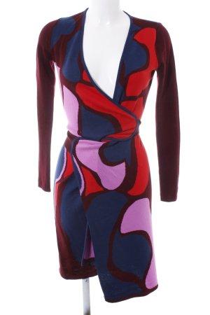 Diane von Furstenberg Cardigan in maglia motivo astratto stile casual