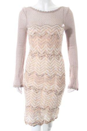 Diane von Furstenberg Strickkleid Lochstrickmuster extravaganter Stil