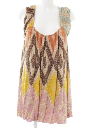 Diane von Furstenberg Trägerkleid abstraktes Muster Casual-Look