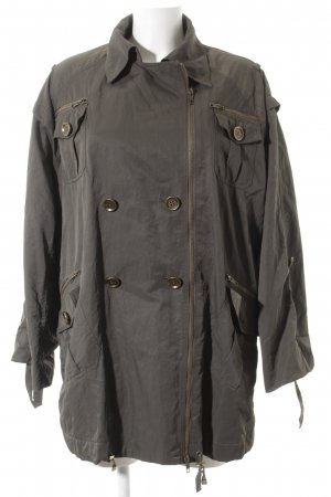 Diane von Furstenberg Trenchcoat khaki minimalistischer Stil