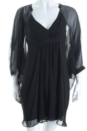 Diane von Furstenberg Tunikabluse schwarz Beach-Look