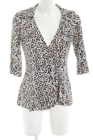 Diane von Furstenberg T-shirt col en V motif graphique style classique