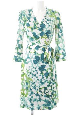 Diane von Furstenberg Wickelkleid abstraktes Muster Casual-Look