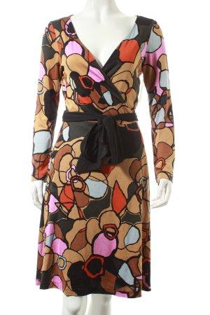 Diane von Furstenberg Wickelkleid abstraktes Muster Eleganz-Look