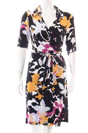 Diane von Furstenberg Wickelkleid abstraktes Muster extravaganter Stil