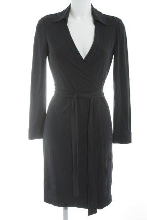 Diane von Furstenberg Wikkeljurk donkerblauw simpele stijl