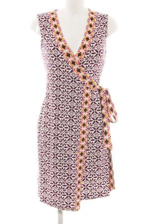 Diane von Furstenberg Robe portefeuille motif floral style extravagant