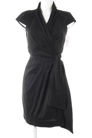 Diane von Furstenberg Wickelkleid schwarz Casual-Look