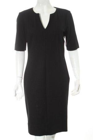 Diane von Furstenberg Wollkleid schwarz klassischer Stil
