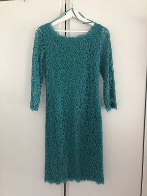 Diane von Furstenberg Zarita Long Spitzenkleid Lace Dress