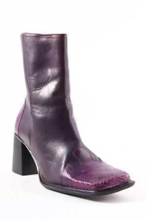 diba Botas altas violeta oscuro-lila estilo extravagante