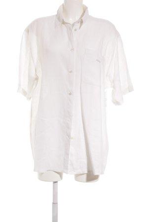 Dibari Kurzarm-Bluse hellbeige-beige Casual-Look