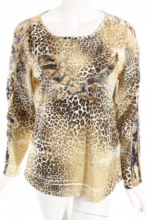 Dibari Shirt Leomuster extravaganter Stil