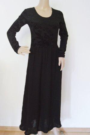 Dibari tolles Kleid gr.36 schwarz gothic