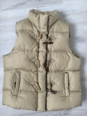 Denim & Supply Ralph Lauren Gewatteerd vest camel Polyester