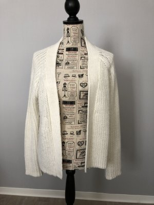 Vila Cardigan in maglia bianco sporco