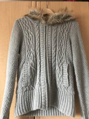 Jennyfer Knitted Vest light grey