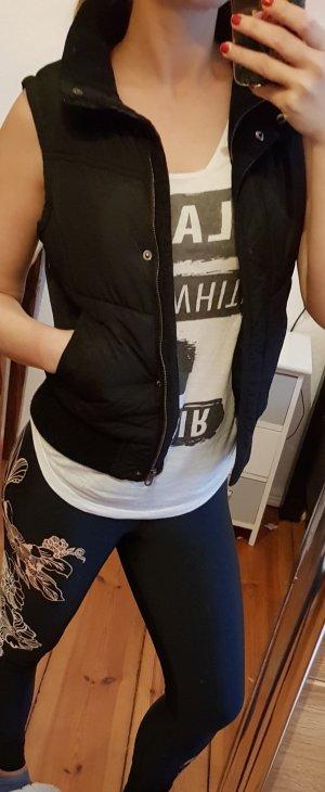 H&M Vest zwart-bruin
