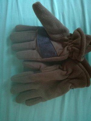 Fleece Gloves taupe