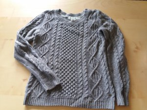 dicker grau brauner Pullover