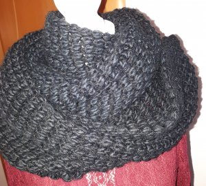 Bufanda tubo negro