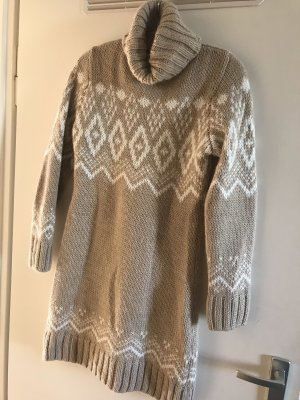 Dicker länger Pullover Kleid Norweger Esprit