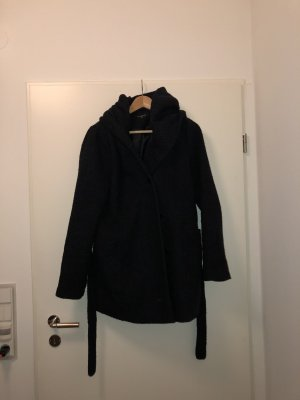C&A Hooded Coat dark blue
