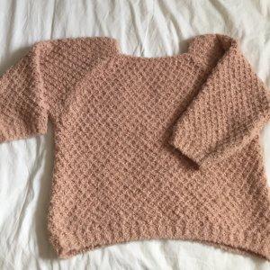 Donna Oversized Sweater pink-dusky pink