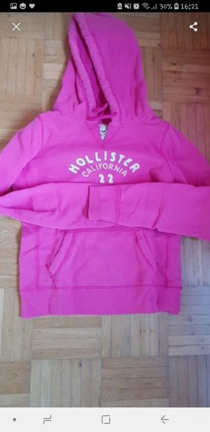 Hollister Hooded Sweater pink