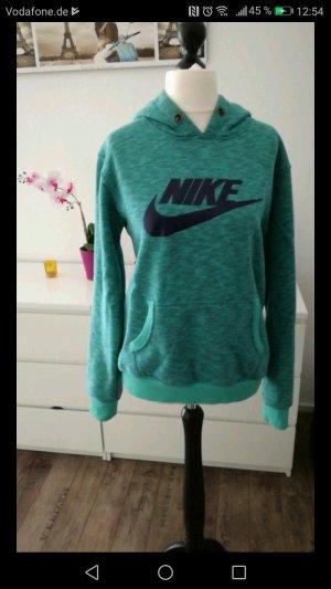 Nike Pull à capuche bleu clair-bleu