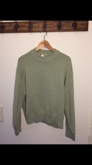 Dicker Pullover Mint färbend