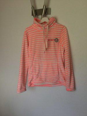 Roxy Fleece Jumper white-neon pink