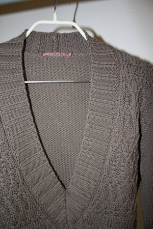 Dicker Strickpullover in feiner Laine-Wolle